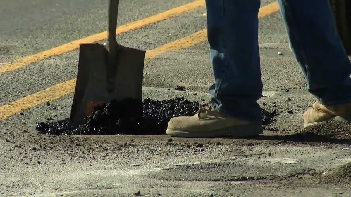 calgary pot hole repair